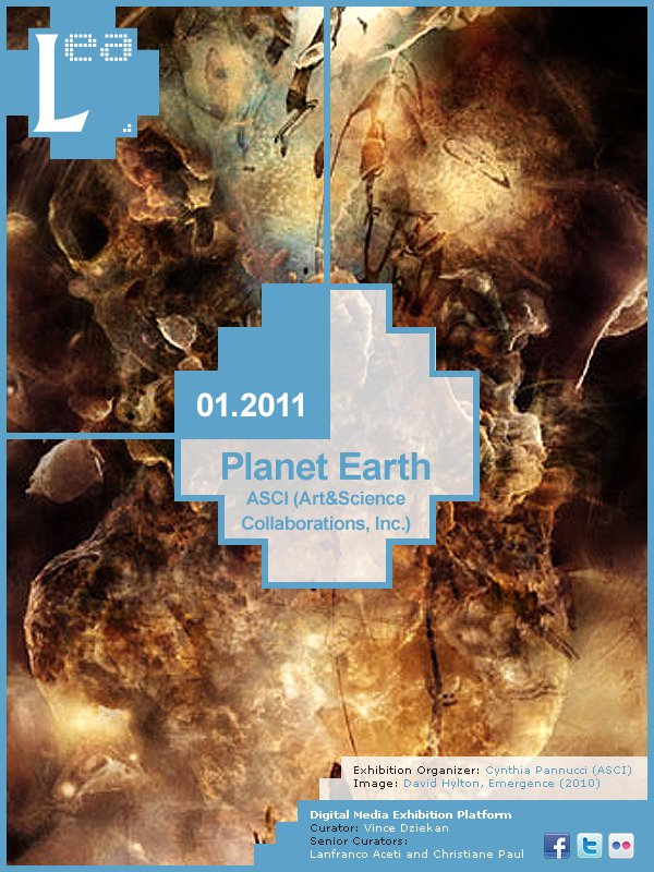 LEA Online Exhibitions: Winter 2011 in association with Art & Science Collaborations, Inc. (ASCI)