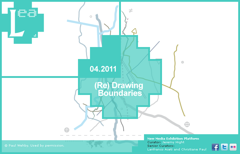 LEA New Media Exhibition: Re-Drawing Boundaries