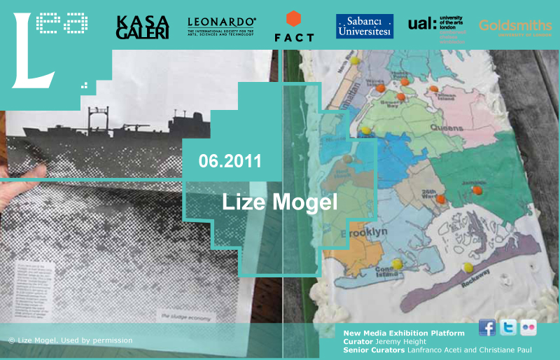 LEA New Media Exhibition: Interview with Lize Mogel