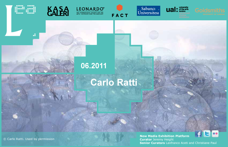 LEA New Media Exhibition: Interview with Carlo Ratti