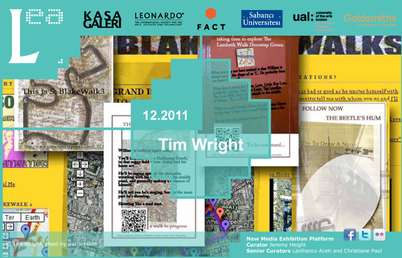 LEA New Media Exhibition: Interview with Tim Wright