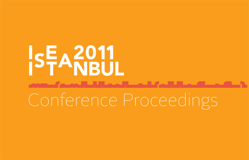 ISEA2011 Istanbul Conference Proceedings Volume 18 Issue 4 (Forthcoming)