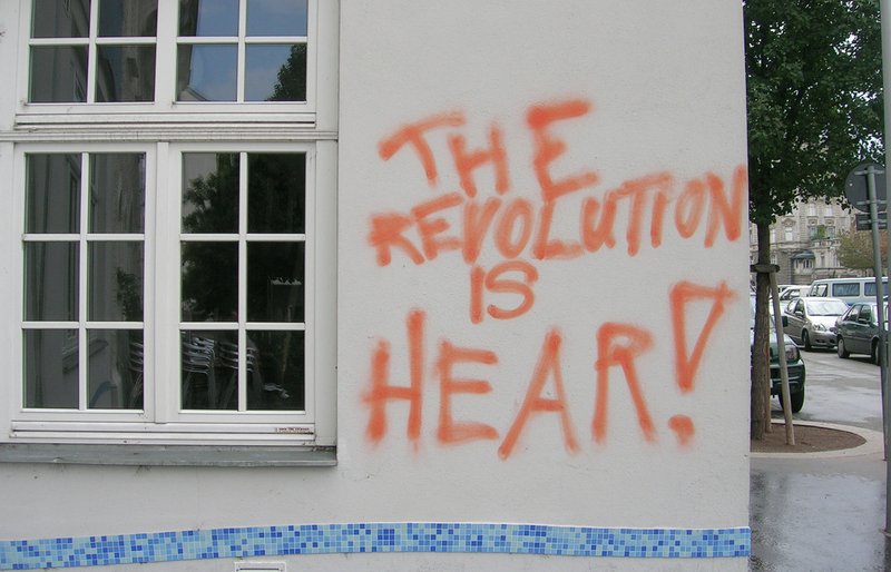 The Revolution is Hear! by Florian Hollerweger