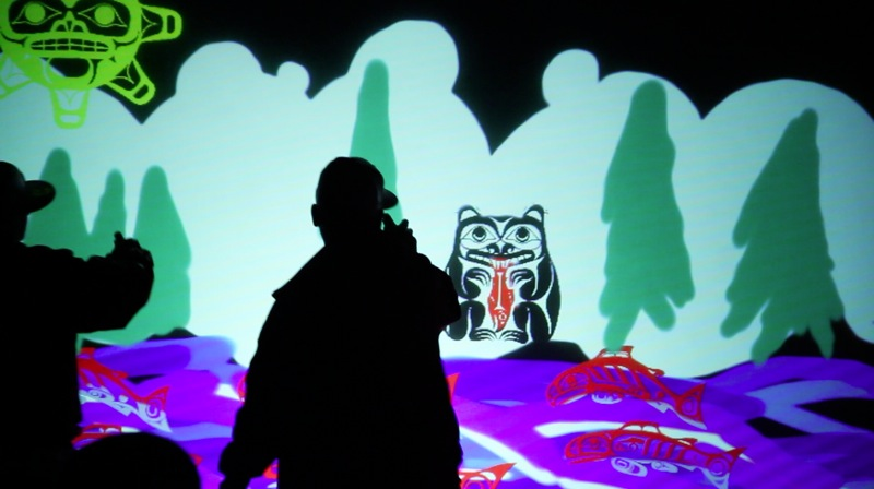 Live Audio-Visual Art + First Nations Culture