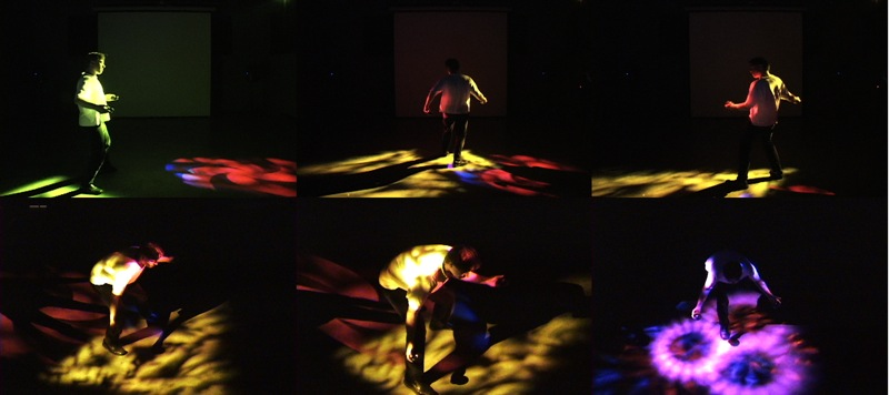 Simulating Synesthesia In Spatially-Based Real-Time Audio-Visual Performance